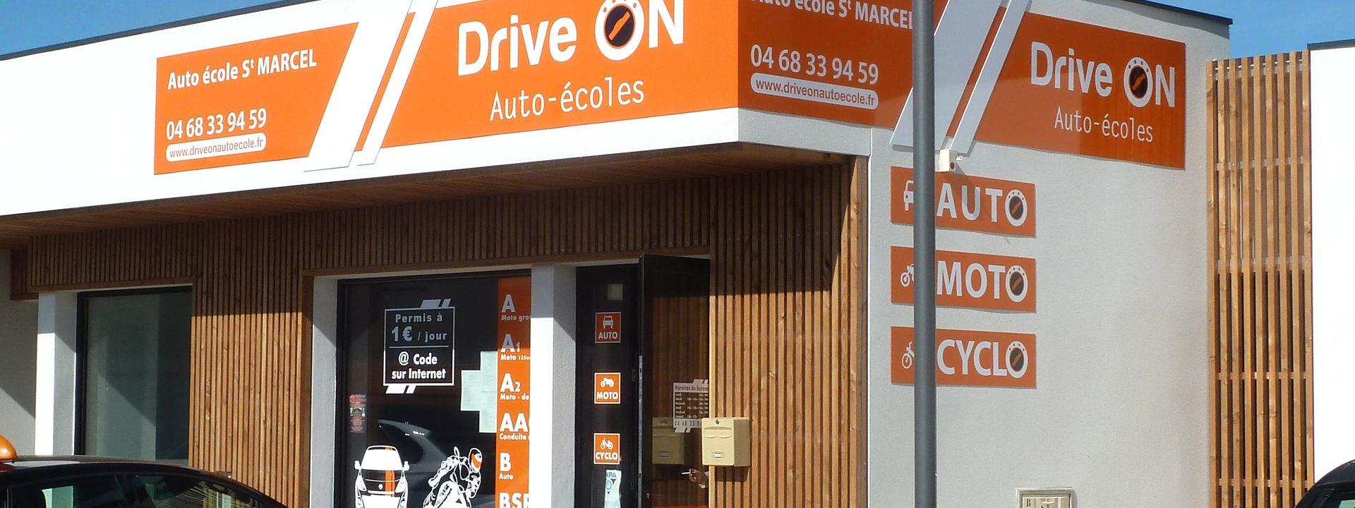Auto-école de Saint-Marcel-sur-Aude